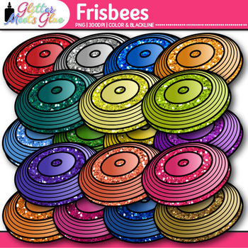 Frisbee Clip Art {Sports Equipment for Physical Education