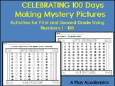 Frist Grade / Second Grade 100 Days with Mystery Pictures