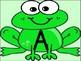 Frog Alphabet Letter Posters