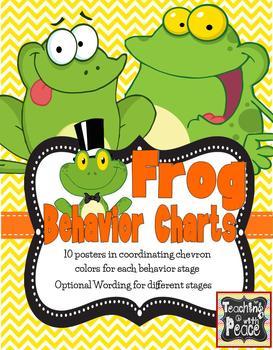 Frog Behavior Tracking Chart