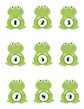 Frog Classroom Theme Packet - Bulletin Boards, Printables,