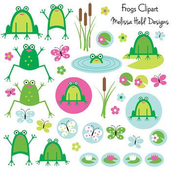 Clipart: Frog Clip Art