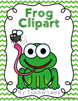 Frog Clipart Freebie
