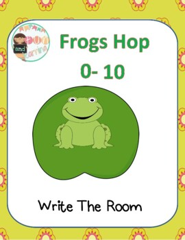 Frog Count Write the Room