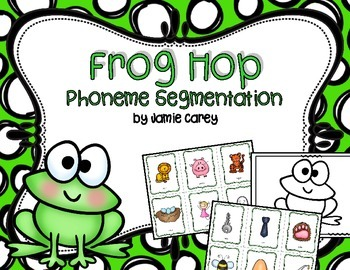 Frog Hop Phoneme Segmentation