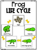 Life Cycle of a Frog {poster, printables, craft & writing}