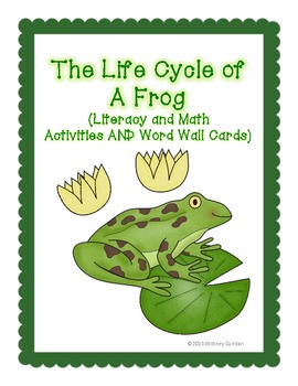 Frog Life Cycle - Differentiated - Sequencing, Writing, Ma