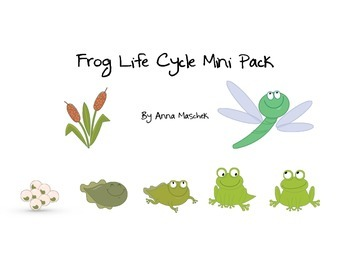 Frog Life Cycle Mini Pack