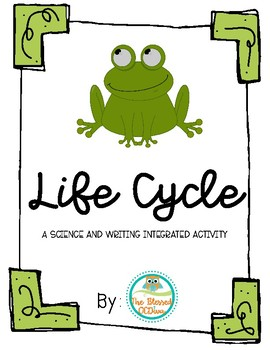 Frog Life Cycle Pack