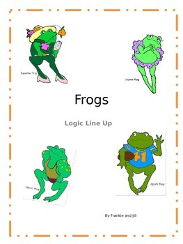 Frog Logic Line Up NO PREP!!! common core aligned