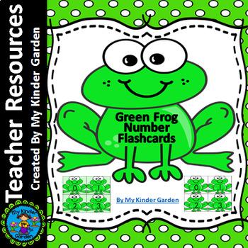 Frog Number Flashcards 0-100