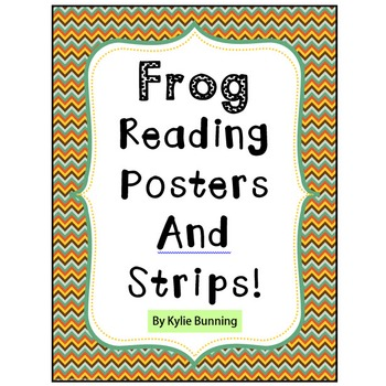 Frog Reading Posters & Strips