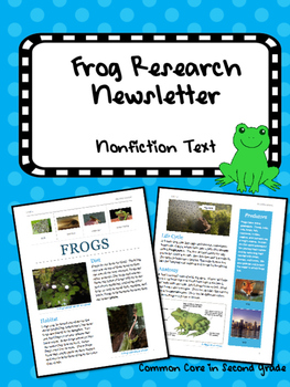 Frog Research Newsletter, Information Research Project, No