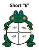 Frog Short E CVC words