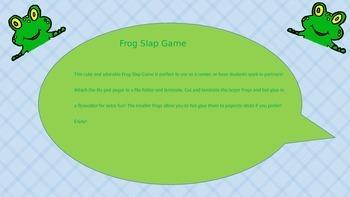 Frog Slap Game