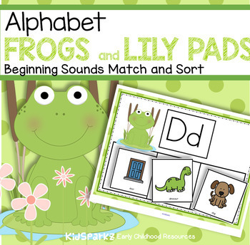 FROGS Beginning Sounds Center for Preschool, Pre-K and Kin