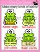 Name Tags and Labels - Frog Theme Classroom Decor - Editable