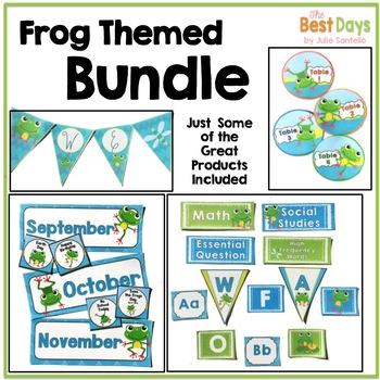 Frog Themed Bundle