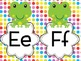 Frog Themed Word Wall