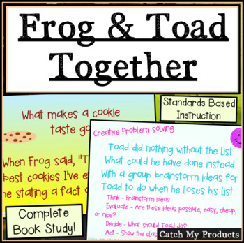 Frog & Toad Together Book Unit in Power Point