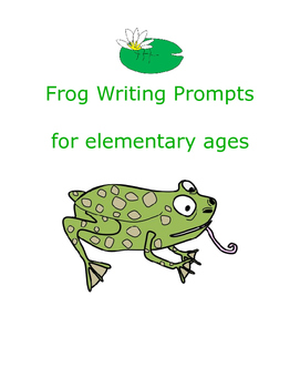 Frog Writing Prompts