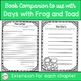 Frog and Toad Are Friends {Book Study}