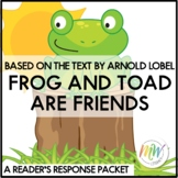 Frog and Toad Are Friends by Arnold Lobel Reader's Respons