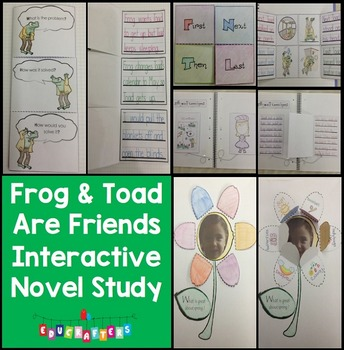 Frog and Toad Are Friends by Arnold Lobel: Novel Study and