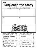 Frog and Toad Together: The Garden Sequencing Activity