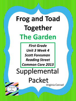 Frog and Toad Together:  The Garden--Supplemental--Reading