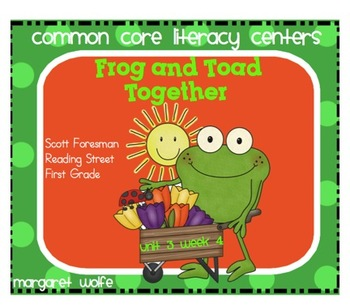 Frog and Toad Together Unit 3 Week 4 Reading Street Common