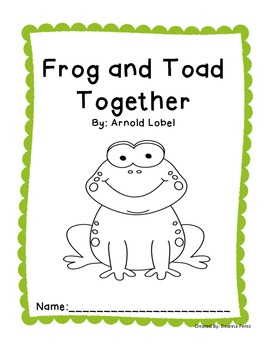 Frog and Toad Together Unit of Study