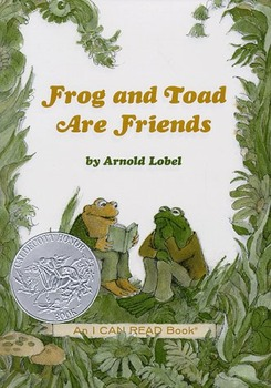 "Frog and Toad are Friends ""The Story"" Activities/Questions"