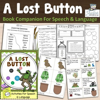 Frog and Toad's The Lost Button