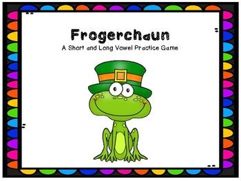 St. Patrick's Literacy Station- Frogerchaun- A Leprechaun