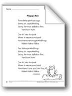 Froggie Fun (A poem)