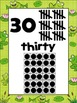 Froggie Number Posters ADD ON PACK 21 to 30 {Math}Frog Hor