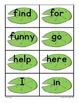 Sight Word Activities FROGS!