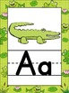 Froggie Themed Alphabet Posters {Frog} Zaner Bloser Font {