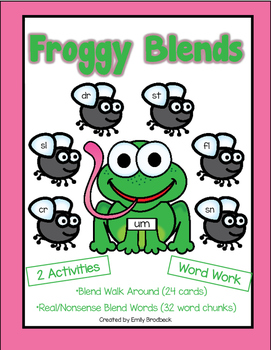 Froggy Blends Word Work