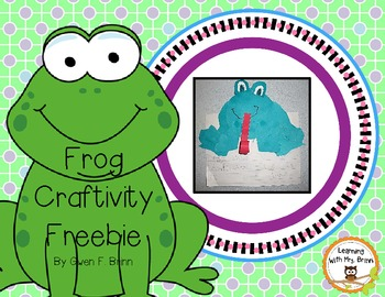 Froggy Craftivity Freebie