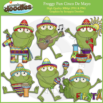 Froggy Fun Cinco De Mayo