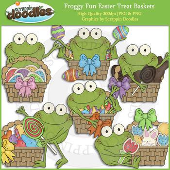 Froggy Fun Easter Treat Baskets