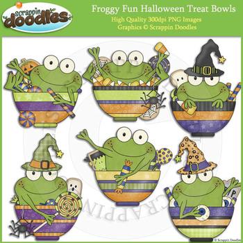 Froggy Fun Halloween Treat Bowls