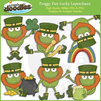 Froggy Fun Lucky Leprechauns