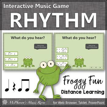 Froggy Fun with Rhythm - Interactive Music Game {titi}