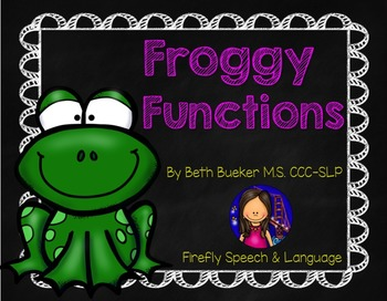 Froggy Functions