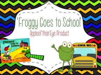 Froggy Goes to School Book Bundle