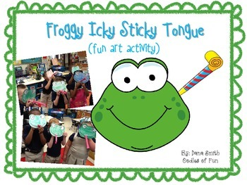 Froggy Icky Sticky Tongue