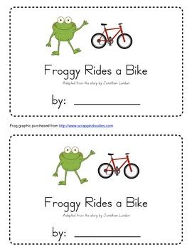 Froggy Rides a Bike Emergent Reader